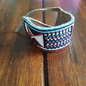 Jewelry - Unique beaded wrap bracelet